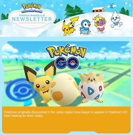 Pokemon Go Pokemon Segunda Generacion Johto