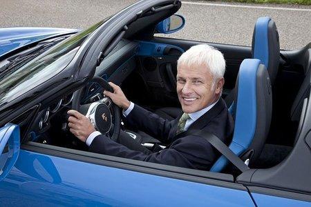 Matthias Müller pone a los nuevos Porsche en reposo
