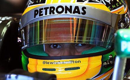 Lewis Hamilton obtiene el mejor tiempo con una Mercedes intratable
