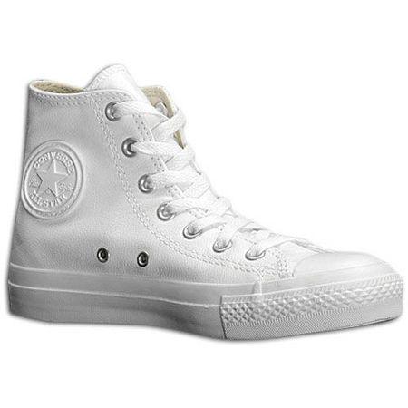 Zapatillas: bota alta converse blanca