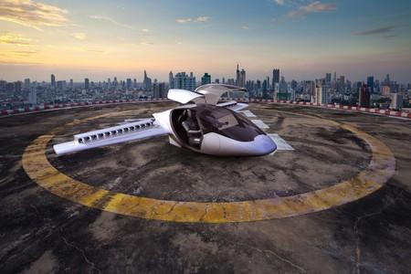 La primera prueba de Lilium Jet, el auto volador completamente eléctrico