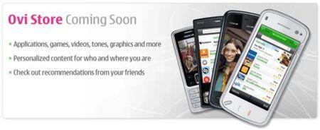 La Nokia Ovi Store llegará bien surtida de contenido