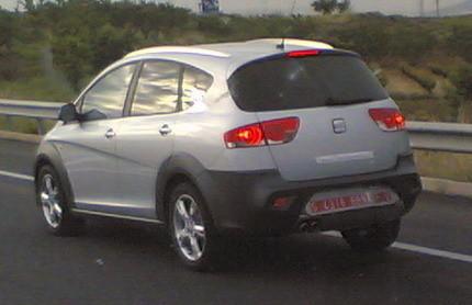 Seat Altea XL4, cazado en la AP-7