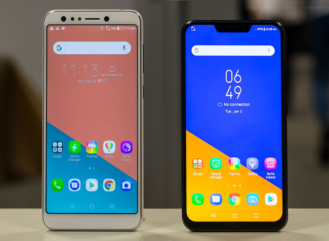 "ASUS ZenFone 5 y ZenFone 5 Lite, toma de contacto: ""notch"" e inteligencia artificial versus selfies ""muy grupales"""