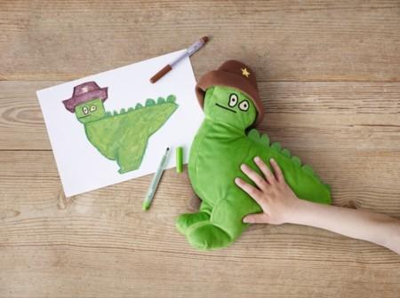 Ikea Softtoys Sagoskatt Dinosaurioverde