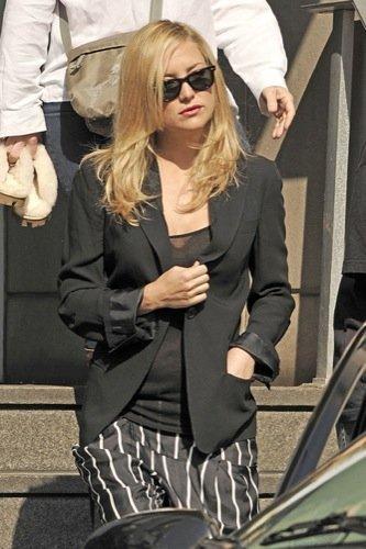 Las gafas de sol de las famosas para la Primavera-Verano 2010: Kate Hudson