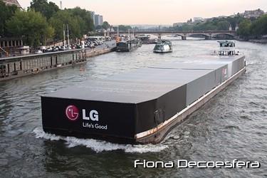 LG presentó en París el frigorífico Platinum