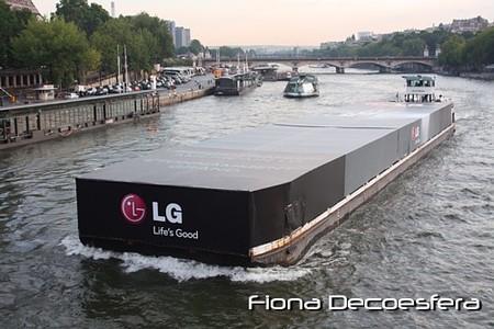 Llegada del barco LG Platinum