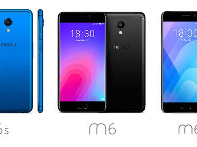 El Meizu M6s estrena lector de huellas lateral y pantalla 18:9: lo enfrentamos a la gama M6 de Meizu