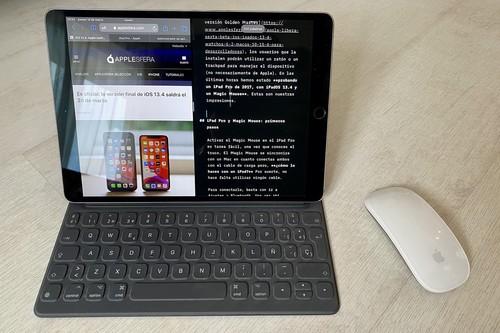 Así funciona un iPad con iPadOS 13.4 y un Magic Mouse en nuestro primer contacto