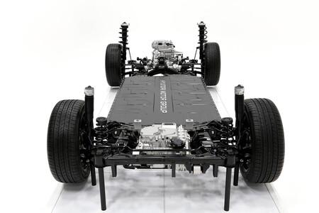 Hyundai platafomra E-Gmp coche eléctrico