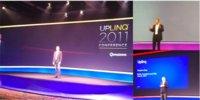 Conferencias de Peter Chou (HTC) y Stephen Elop (Nokia) en el Uplinq 2011