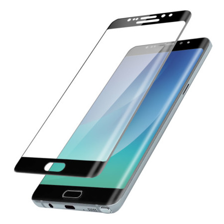 Samsung Galaxy Note 7 Black Tempered Screen Protector 540x540