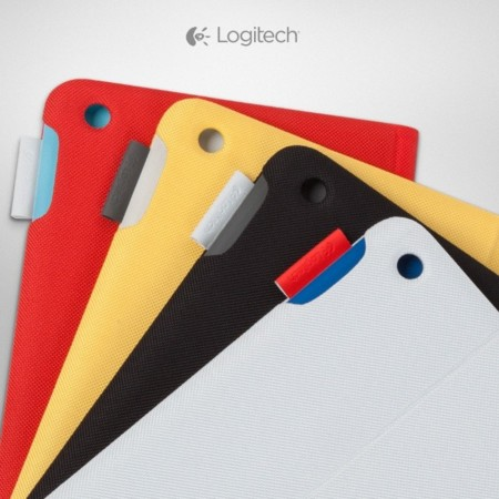 logitech fabric skin keyboard folio accesorio ipad air apple