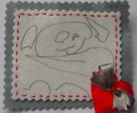 El dibujo de tu hijo en un broche