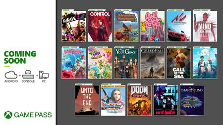 Control, DOOM Eternal y Rage 2 se unirán en diciembre al servicio de suscripción de Xbox Game Pass, entre otros juegos (actualizado)