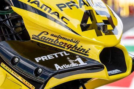 Lamborghini 'se pasa' a MotoGP vistiendo de amarillo y negro al Pramac Racing en Mugello