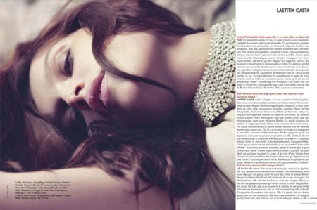 El renacer de Laetitia Casta: las curvas más sensuales I