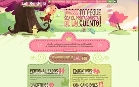 Lali Rondalla ofrece cuentos para niños y además que ellos sean los protagonistas