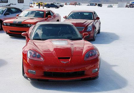 Top Gear prueba el Corvette ZR-1, el Challenger y el CTS-V, ¡y les gustan!