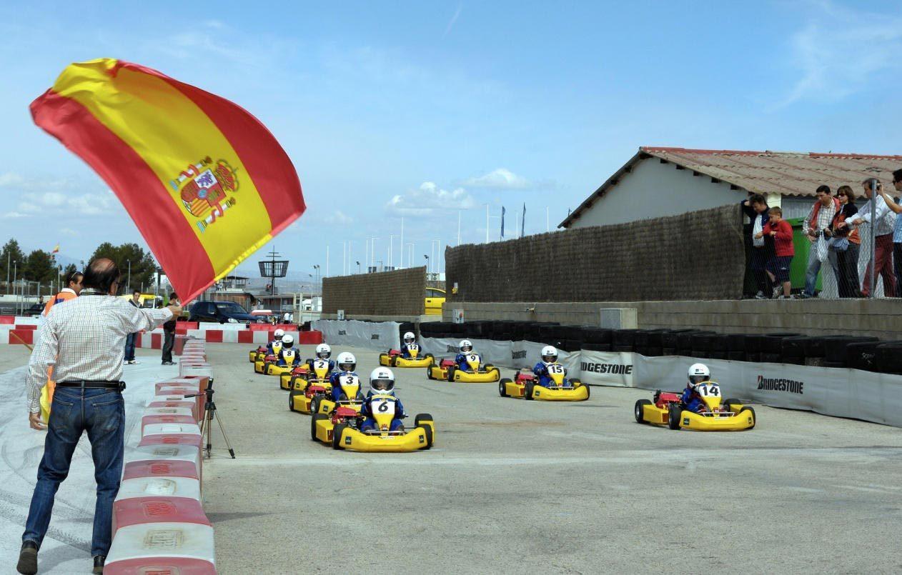 Circuito Karting : Foto de karting circuito del jarama 2 7