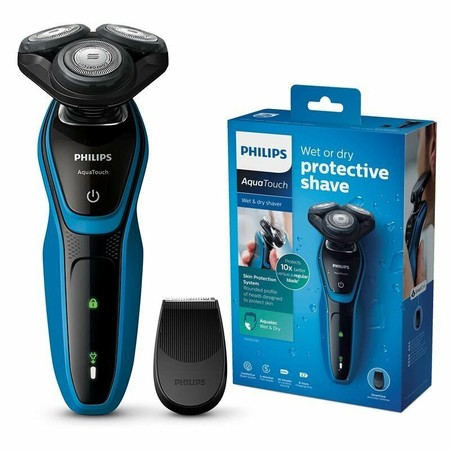 El cupón PDESCUENTO10 nos deja la afeitadora Philips AquaTouch, apta para seco o mojado, por sólo 55,80 euros en eBay