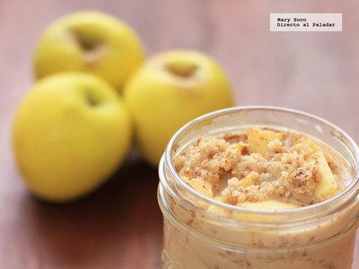 Quinoa con manzana y canela. Receta para el desayuno o la cena