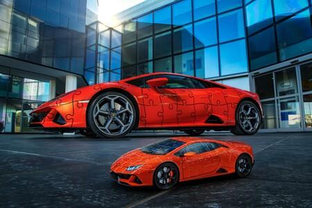 Lamborghini Huracán EVO se convierte en un rompecabezas en 3D