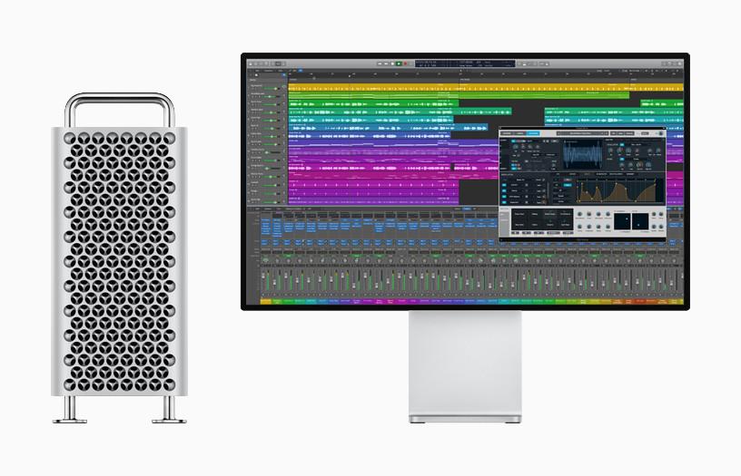 Logic Pro X se actualiza para utilizar la increíble fuerza del reciente Mac™ Pro