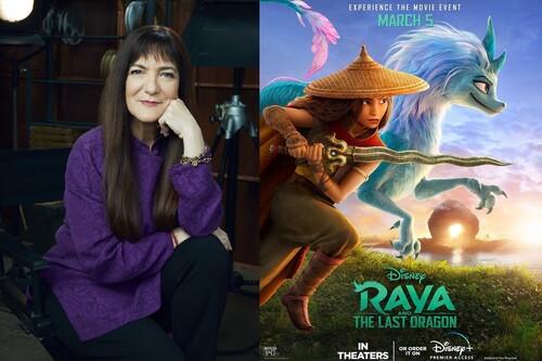 """""""Todavía hay muchas oportunidades hasta lograr con mujeres la variedad de los héroes masculinos que hemos visto"""". Osnat Shurer ('Raya y el último dragón')"""