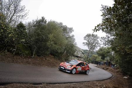 Stéphane Sarrazin lidera en Córcega tras la primera etapa