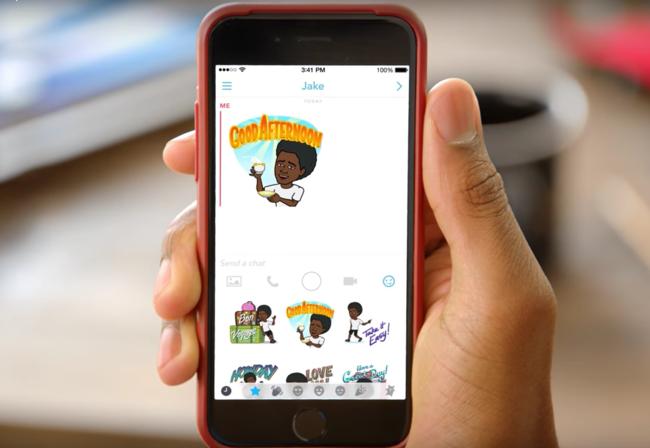 650 1200 Snapchat se actualiza y ahora permite crear pegatinas personalizadas en iOS