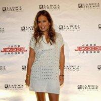 Jade Jagger se presenta en Barcelona como embajadora de La Roca Village