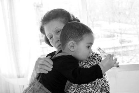 La foto de tu bebé: Leo, adoración por su abuela
