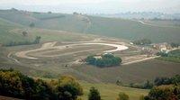 Italianos derrapando en el rancho de Valentino Rossi
