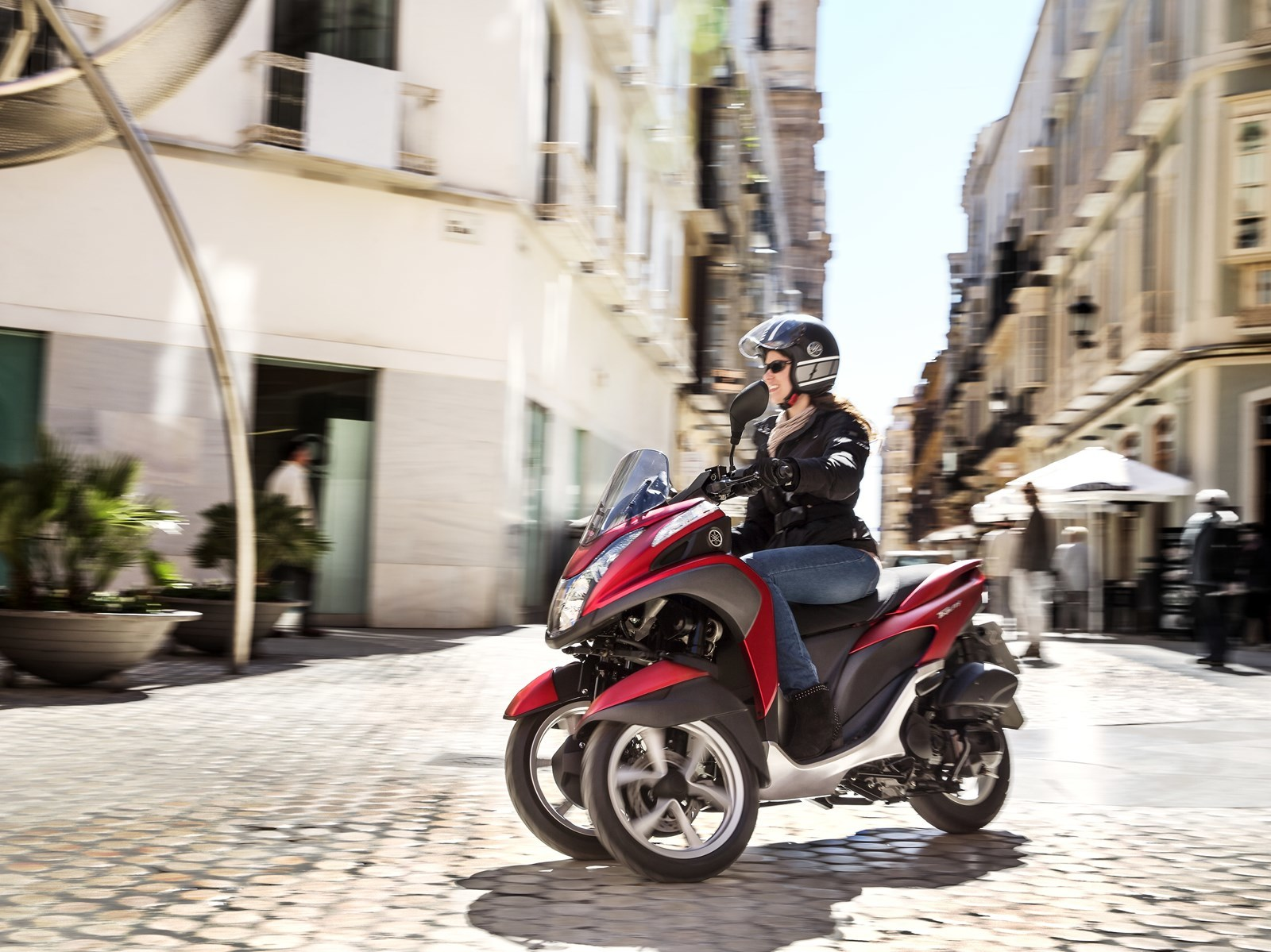 Foto de Yamaha Tricity 125 cc acción (3/21)