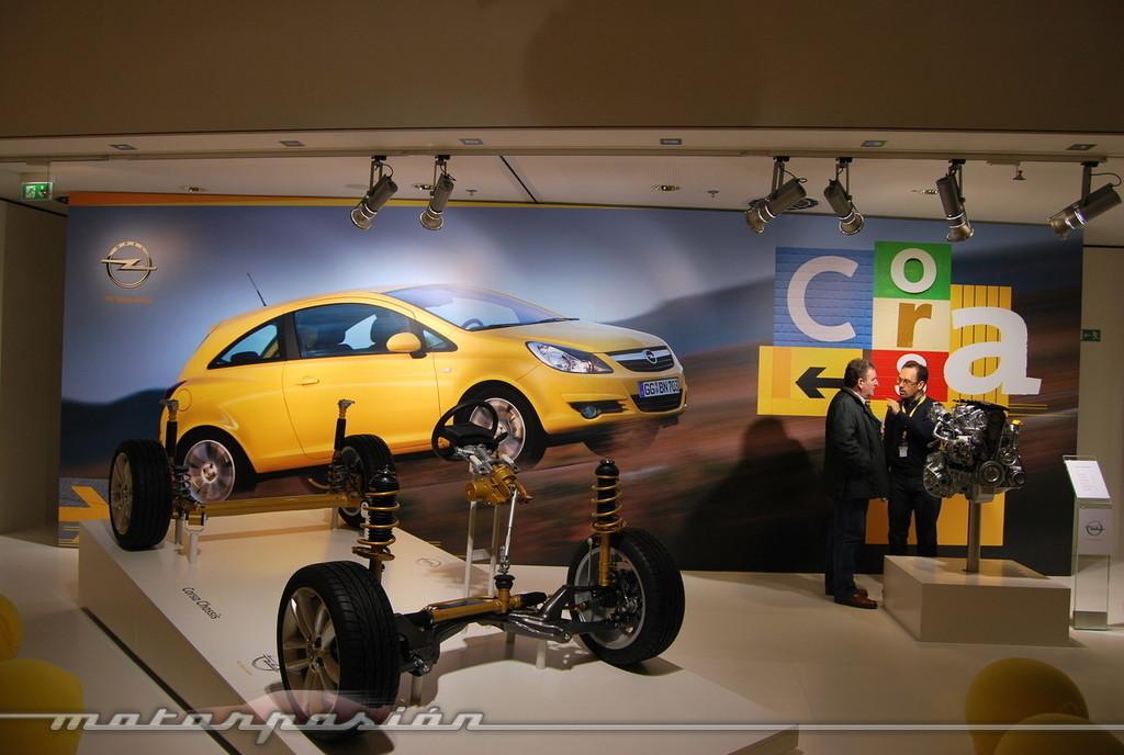Opel Corsa 2010 (presentación)