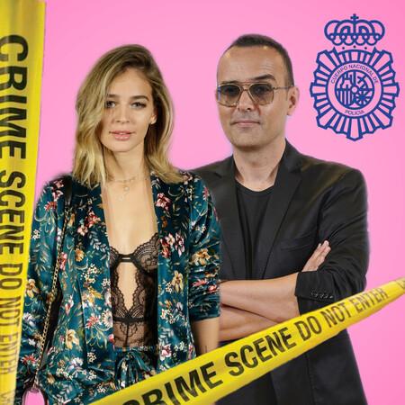 Laura Escanes y Risto Mejide en comisaría: se filtra su domicilio familiar y están amenazados