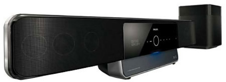 Philips traerá al mercado un SoundBar con Blu-Ray