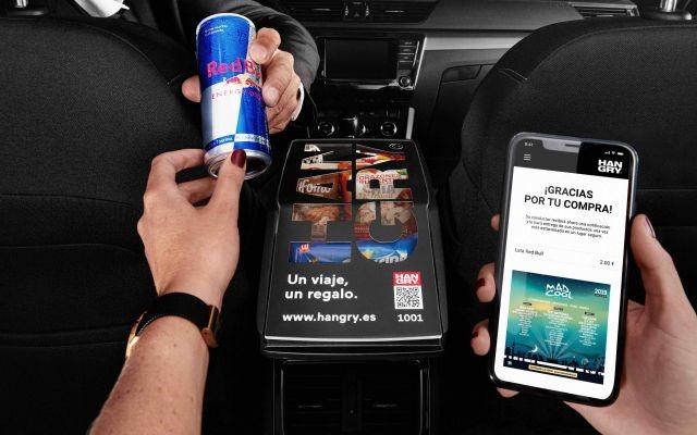 Ahora los conductores de Uber te venderán hasta un Red Bull o unas Pringles para el camino, usando la app 'Hangry'