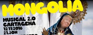 A Mongolia le ampara la ley: si quieres, puedes hacer pasar a Trump por la Virgen de La Caridad de Cartagena