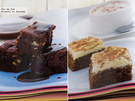 Deliciosos brownies. Libro de recetas