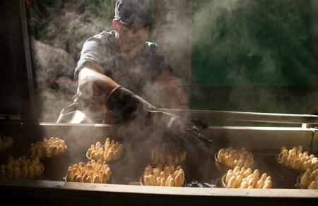Coccion De Esparragos Para Conservas En La Viuda De Cayo