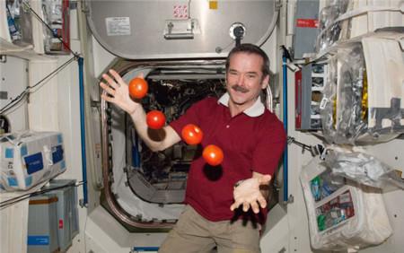 NASA alimento espacial