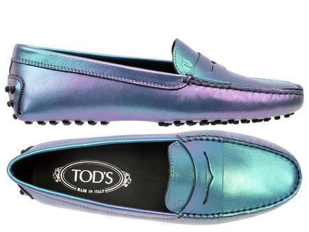 Tod's Gommino, celebrando la Navidad 2012 en mocasines. Edición limitada