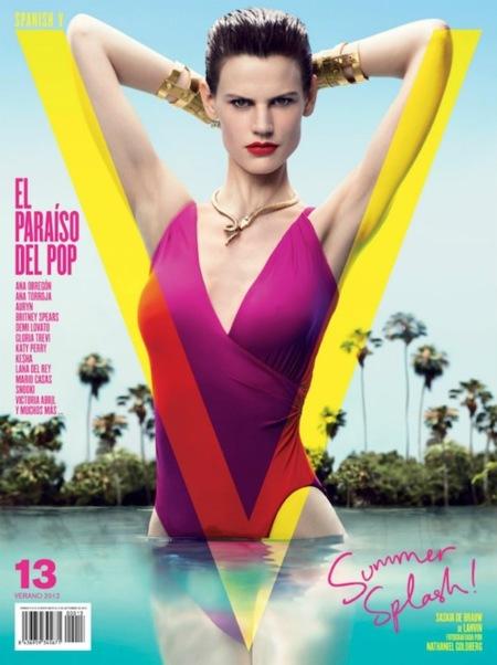 Al agua patos con V Magazine. ¡Esto sí que es verano!