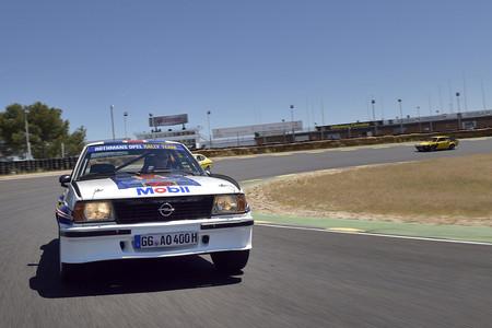 Opel Ascona B 400 en curva