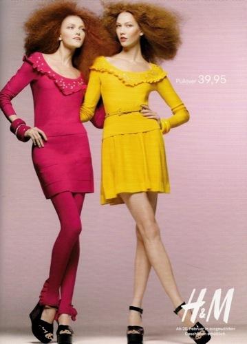 Colección exclusiva de Sonia Rykiel para HM, Primavera-Verano 2010. Amarillo
