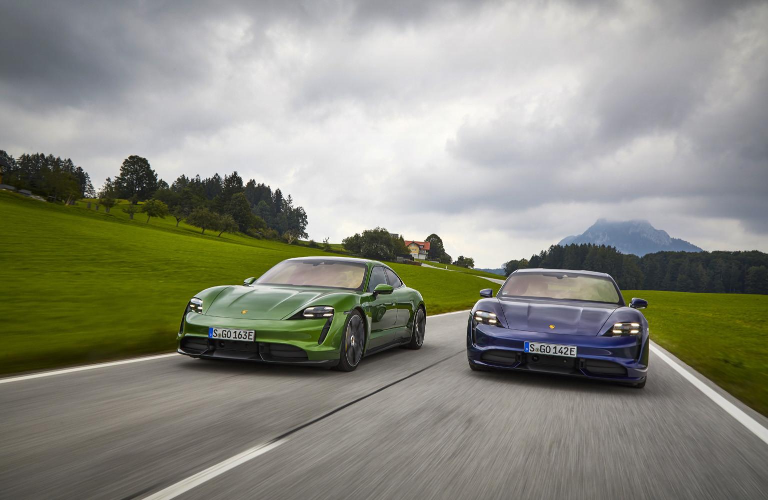 Foto de Porsche Taycan prueba contacto (147/275)