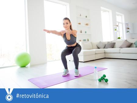 #RetoVitónica: una semana moviéndonos más y sumando sentadillas, flexiones y burpees